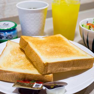 こだわりの朝食メニュー